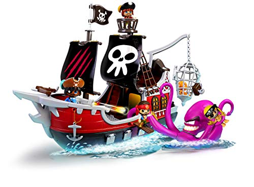 Pinypon Action- Barco Pirata, Juguete Recomendable (Famosa 700015803)