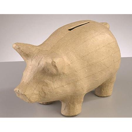 Paper Mache Money Collection Box to Decorate 15x10cm Papier Mache Boxes