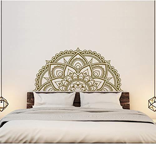 Sanzangtang Mandala applicatie master slaapkamer wanddecoratie half mandala auto sticker half mandala venster sticker