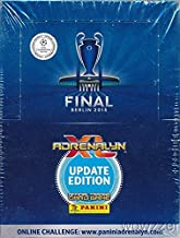 2015 Panini Adrenalyn Champions League Update Factory Sealed 50 Pack Booster Box with 300 Cards! Imported from Europe! Look for Top Stars including Ronaldo,Messi,Neymar & Many More!