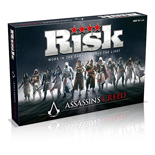 Risk Assassins Creed - Strategisch bordspel - Speciale Assassins Creed editie Risk - Voor kinderenr - Taal: Engels