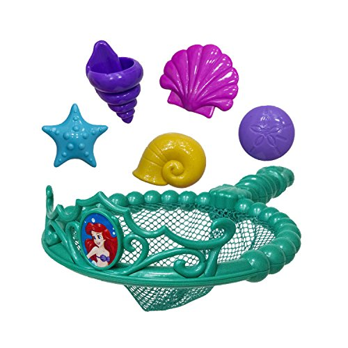 SwimWays Disney Princess Ariel Tiara Net - Swimming Dive and Catch Games - Mermaid Pool Toys