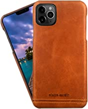 Pierre Cardin iPhone 11 Pro Max Case, Premium Genuine Cowhide Leather with New Slim Design Fashion Hard Back Cover for iPhone 11 Pro Max(6.5