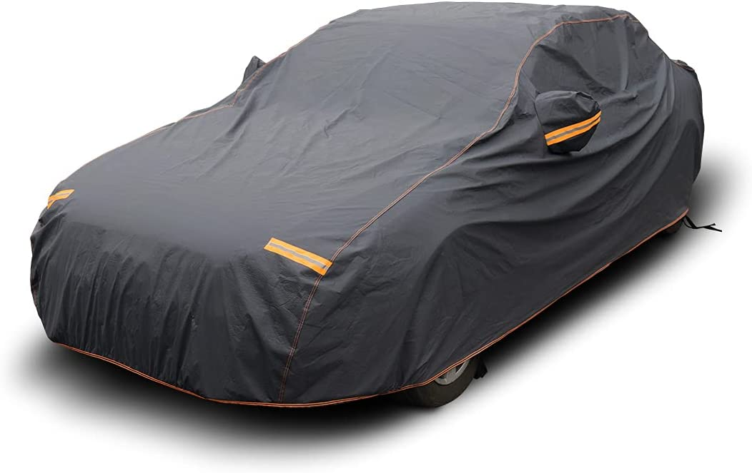 MOTOWELL Car Cover It is very popular Waterproof All 6 Weather for Automobile New life Layer