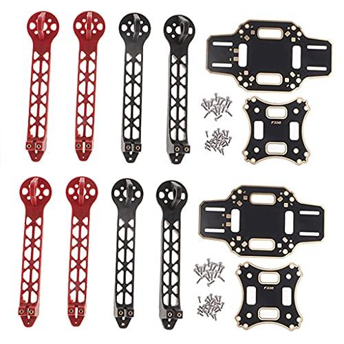 zmigrapddn 2 Set di Ricambio per Kit Telaio Drone da 330 mm per DJI F330 Drone Accessori per quadricottero Fai da Te, Accessori di Ricambio RC