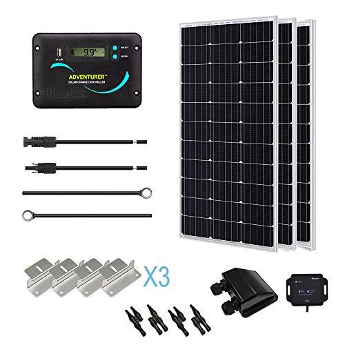 Renogy KIT-RV300D Solar Panel kit, 300W