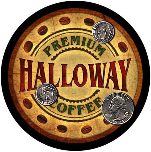 Halloway Coffee Custom Neoprene Rubber Coasters depot pcs - 4 Drink