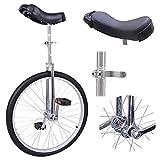 Triprel Inc Professional 24' Inch Wheel Performance Trick Unicycle - CHROME