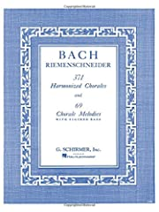 """166 pagesSize: 12"""" x 9""""Editor: Albert RiemenschneiderISBN: 793525748 His simplest and purest work are four-part chorale compositions and settings, so perfectly constructed that they evoke meditative spirituality Figured bass was a Baroque system of n..."""