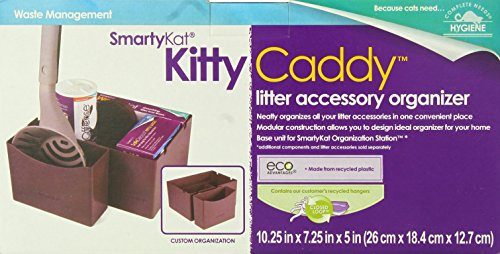 SmartyKat Kitty Caddy Cat Litter Caddy - Modular & Customizable Litter Accessory Organizer