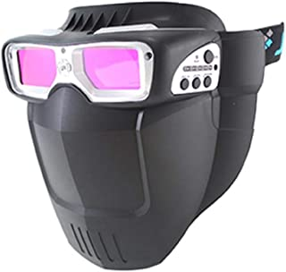 Arc Shiled Mask  Auto Shade Welding Goggles Silver SERVORE ARC-513