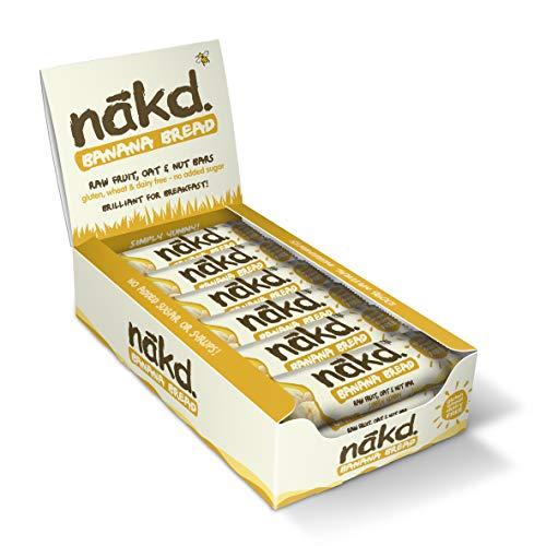 Nakd - Bananen Brot - New Recipe - 18 x 35g Riegel