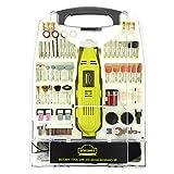 DEWINNER Rotary Multi-Tool, 135W 6 Variable Speed 8000-35000 RPM, 233 pcs Accessories Mini