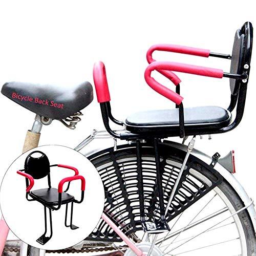 SXFYHXY Asientos de Bicicleta para niños, Asiento Trasero de Bicicleta para niños...