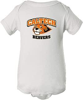 NCAA Cal Tech Beavers PPCFI02 Baby Short Sleeve One Piece