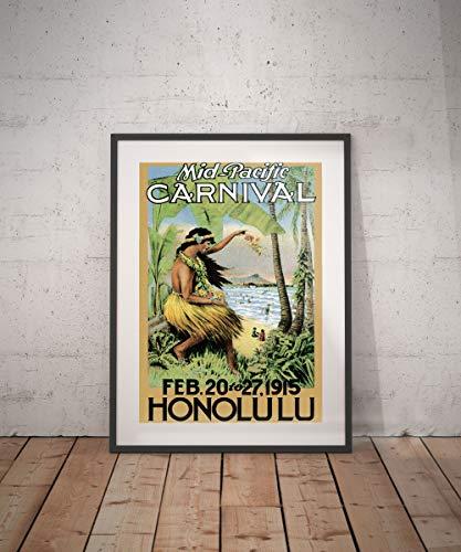Rac76yd Honolulu Honolulu Poster da viaggio Honolulu Poster Honolulu stampa hawaii hawaii poster da viaggio poster da parete decorazione