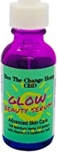 """Bee The Change Healing""""GLOW"""" Serum, Nourishing, Illuminating Vitamin C, Hyaluronic Acid, Rosehip Oil, With the Healing Anti-inflammatory Nutrients of HEMP Extract"""