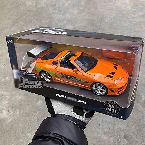 Niño Control remoto de automóvil Control remoto 1:24 Niños de control remoto aleación de autos aleación de coches Modelo de coche Modelo de automóvil Metal Coche de fundición Fast Furious Bull Demon S