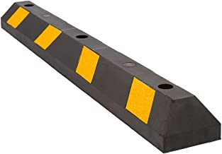 """Yellow 1790Y GRAINGER APPROVED Parking Curb,72/"""",Yellow,Polyethylene"""