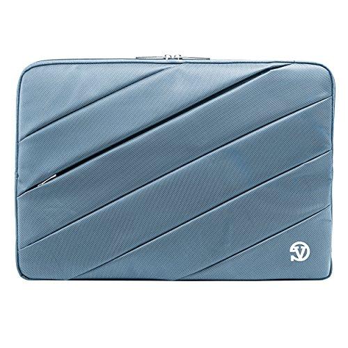 Protective Shock Absorbing Laptop Sleeve Case (Blue, 11.6 to 12.5 inch) for HP ChromeBook, Elite x2, EliteBook, Envy, Pavilion, Pro x2, Spectre x2, Stream 11, Elite X3 Lap Dock