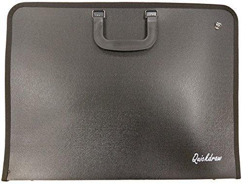 Quickdraw A2 Portfolio Case Artist Vinyl Storage Carry Art Work Protection Folder