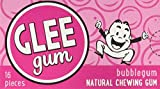 Glee Gum All Natural Bubblegum, Non GMO Project Verified, Eco Friendly, 16 Piece Box, Pack of 12