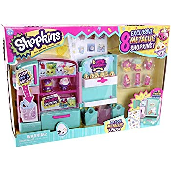 NEW Shopkins Season 4 S4 So Cool Metallic Fri   Shopkin.Toys - Image 1
