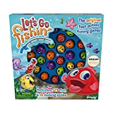 Pressman Amazon Exclusive Bonus Edition Let's Go Fishin' - Includes Lucky Ducks Make-A-Match Game!