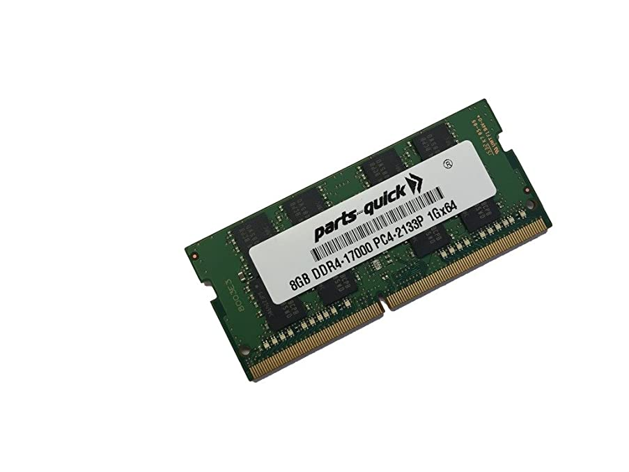 8GB Memory for Fujitsu CELSIUS H760 DDR4 2133MHz SODIMM RAM (PARTS-QUICK BRAND)