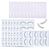 35 Pairs Practice Lashes for Eyelash Extensions Supplies Training Eye Lash Strips Self Adhesive Mimic Natural Eyelash for Training Lash Extensions Beginner by Beauty Star (7Packs)