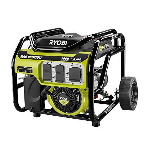 Ryobi 3,600-Watt 212cc Gasoline Powered Portable Generator Categories