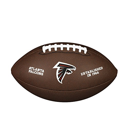 WILSON NFL Team Logo Composite Fußball, Atlanta Falcons, Official