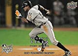 2008 Upper Deck First Edition Matte Finish #298 Eugenio Velez RC Rookie Card San Francisco Giants Official MLB Baseball Trading Card in Raw (NM or Better) Co... rookie card picture