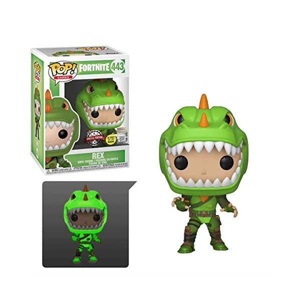Funko Pop! Games: Fortnite - Rex (Glow In The Dark) 2