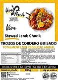 Trocitos Cordero Vegano, 300g Viva Planta | Vegan | Sin carne | 100% Vegetal | Plant Based | Sin Gluten (Pack de 3)