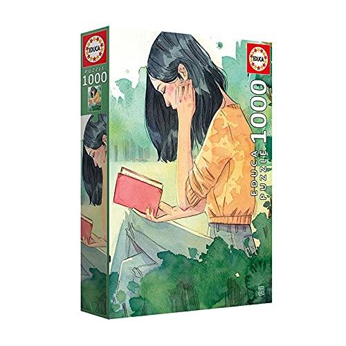 Educa 19028 Lectora Esther Gili. Puzzle de 1000 Piezas, a Partir de 14 años, Multicolor