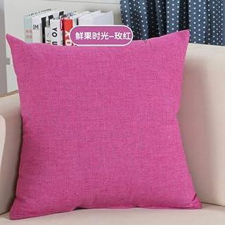 YYBF Sólido sofá Cintura cojín Almohada Decorada Tirante Almohada para el hogar 40 cm y 60 cm 19