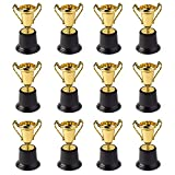 Gold Award Trophy Cups 5' First Place Winner Award Trophies by Neliblu Bulk Pack of 12 For Kids and Adults - Perfect To Reward Those Who Have Achieved