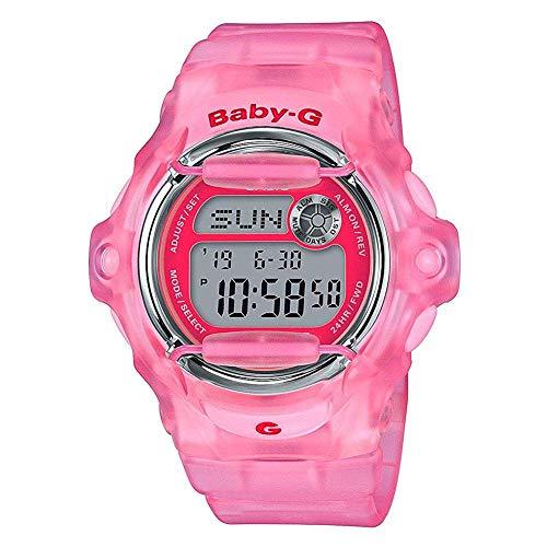 Casio BG169R-4E Baby-G Women's Watch Pink 42.6mm Resin, standard