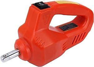 Herramientas mantenimiento automóviles Llave de impacto coche automático 340N 100W * M eléctrica con dos fusibles Tubos dos entradas for 17-19m m y 21-23mm (Color : Orange)
