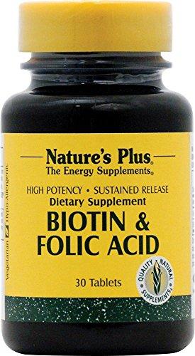 Biotin & Folate (2500 mcgBiotin/800mcg Folat) 30 Tabletten S/R NP