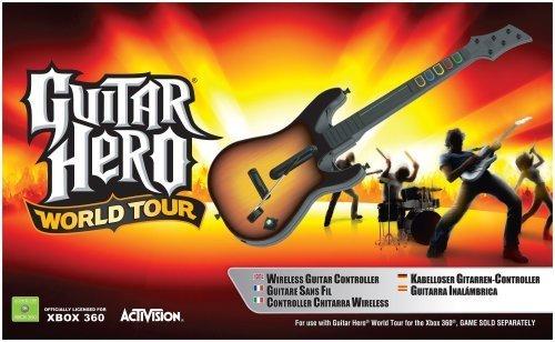 Activision Guitar Hero - Volante/mando (Xbox 360, Guitarra, Xbox, Analógico, Inalámbrico, Multi)