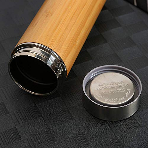 Generic Brands Vacuum Flask Stainless Steel Vacuum Flask Bamboo Cup Business Car Portable Car Cup