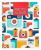 Grupo Erik Afs48132008 - Album Foto 13 x 20 cm, 48 Tasche, Copertina Morbida - Vintage Camera