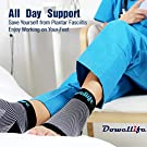 Dowellife Plantar Fasciitis Socks, Ankle Brace Compression Support Sleeves & Arch Support, Foot Compression Sleeves, Ease Swelling, Achilles Tendonitis, Heel Spurs for Men & Women (Black M) #4