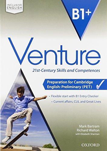 Venture B1+ Super Premium ST&SB&WB + Interactive eBook + + Espansioni