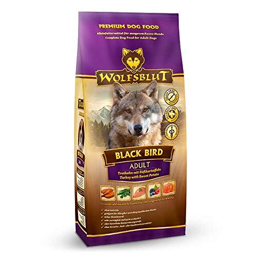 Wolfsblut | Black Bird | 7,5 kg | Truthahn | Trockenfutter | Hundefutter | Getreidefrei