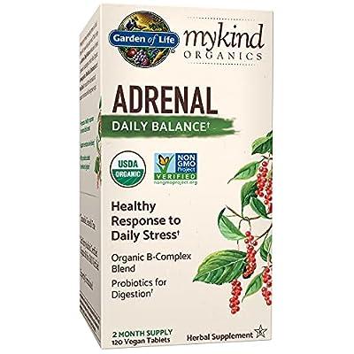 Garden of Life MyKind Organics Adrenal Daily Balance - 120 Vegan Tablets