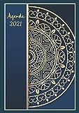 Agenda 2021 dia por Pagina A4 español Profesional: Calendario 2021   Del 1 de enero de 2021 al 31 de diciembre de 2021   Diario, organizador y ... semanal   XXL 21x29,7 cm A4, Vintage classic