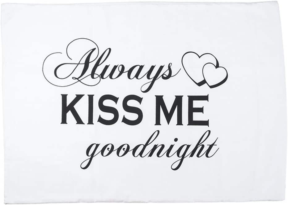 Ganz Pillow CASE-Always KISS ME,COT
